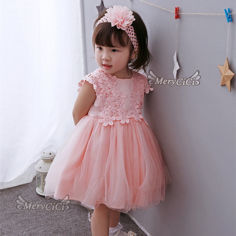 9788cd59c 2018 Baby Princess Boutique Dress Newborn Lace Flower Baptism Dresses Girls  Vestidos for 1st Birthday Infant Girls Clothing-in Dresses from Mother    Kids on ...