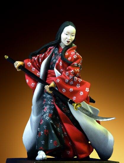 1/32 54mm Samurai Female Warrior(1600-1867) resin kit new coming best quality