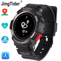 F6 Bluetooth Smart Watch Waterproof IP68 Swimming Heart Rate Monitor Sport smartwatch GPS Multi Sport Mode Fitness Tracker clock