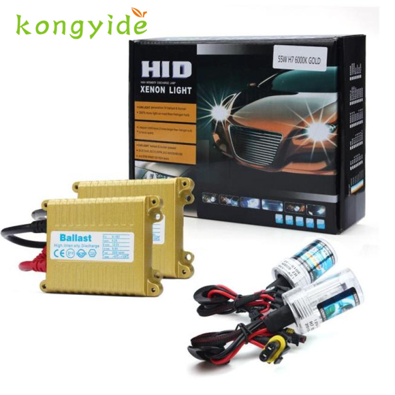 2017 NEW Car-styling 12V 55W Slim H1 3000K Xenon HID Bulb + Ballast Conversion Set Kit fashion hot drop shipping nov1