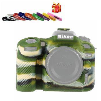 High Quality SLR Camera Bag for NIKON D7500 Lightweight Camera Bag Case Cover for Nikon D7500 Red/Camouflage фото