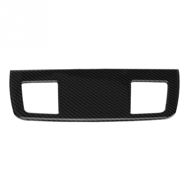 Car styling Carbon Fiber Car Interior Air Conditioner Outlet Panel Frame Cover Trim for BMW E90/92/93 Car Accessories