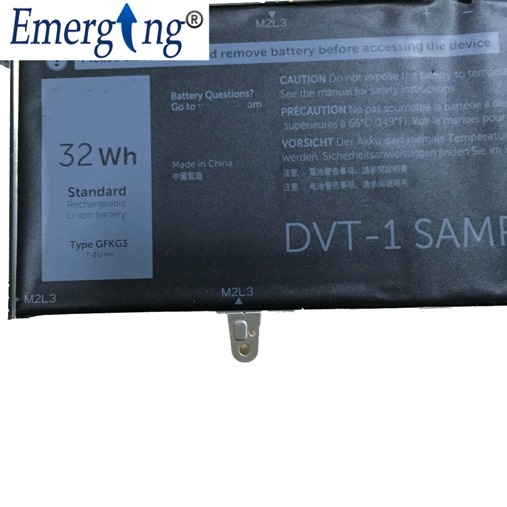 7.4v 32WH New Original Laptop Table Battery for Dell GFKG3 GFKG3 0VN25R VN25R