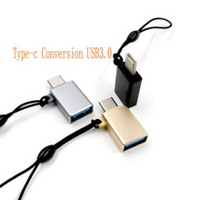 2pcs/lot Type C Master-to-USB 3.0 M/M Interface OTG Plug General Adapter Computer TV Charging Converter Universal USB Connector