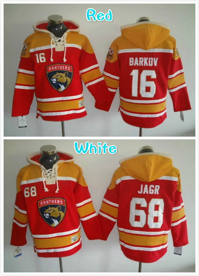 greece mens 16 aleksander barkov 68 jaromir jagr hockey hoodies jersey red  f16f6 e560c 01003cd0a