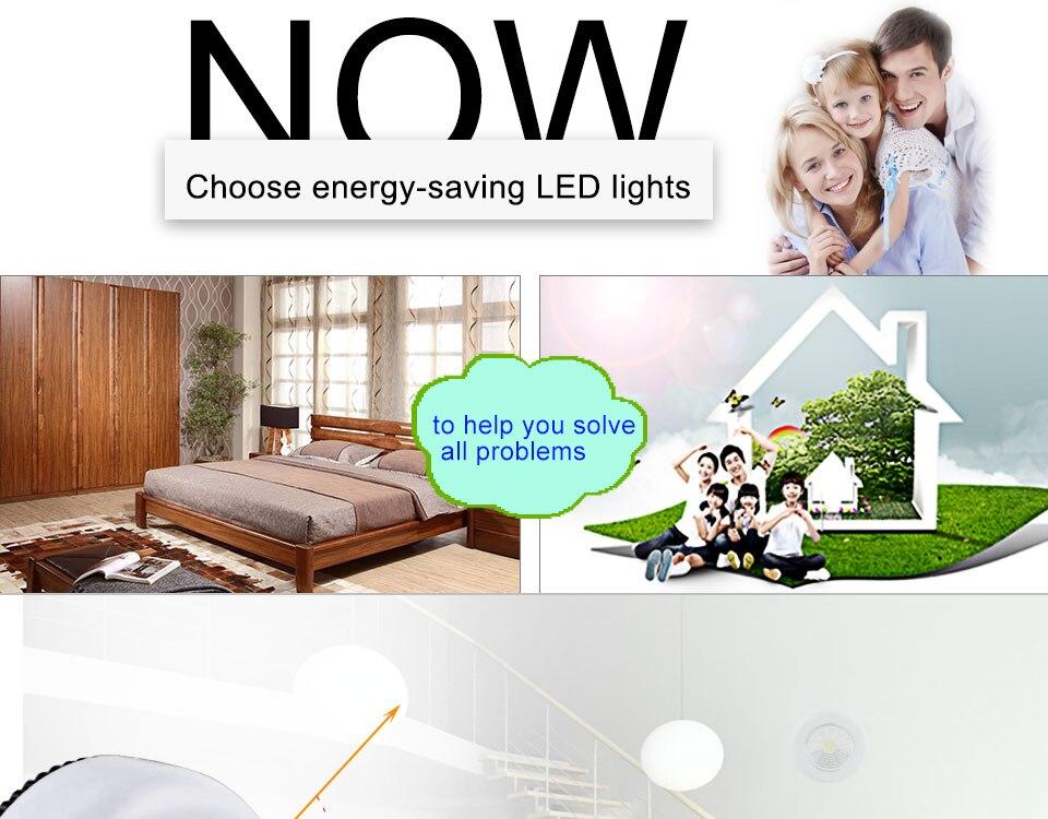 LED Novelty Lighting Wall Light Night Lights COB LED Stick Sticker Tap Touch Cabinet Wardrobe Corridor 3x AAA Batteries (3)