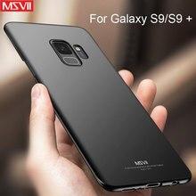 For Samsung Galaxy S7 S8 S9 S10 Case Slim Hard Frosted PC Cover Case for Samsung S8 S9 S10 Plus Cover for Galaxy S6 S7 edge case стоимость