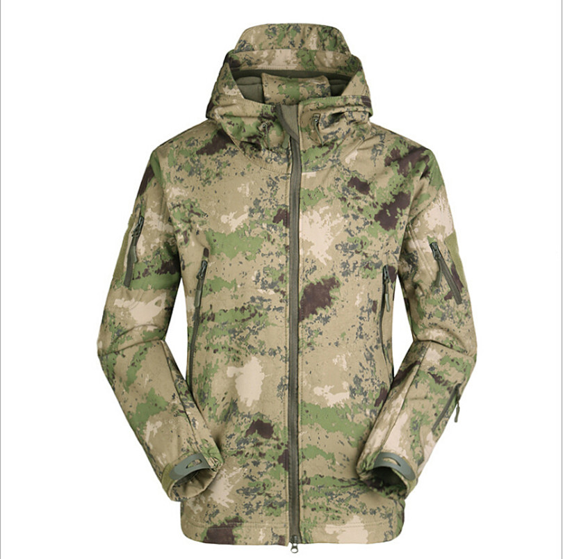 970bfb1893d9 Army Camouflage Coat TAD V5.0 Military Jacket Waterproof Windbreaker  Raincoat Hunt Clothes Army Men Outerwear Jackets And Coats-in Jackets from  Men s ...
