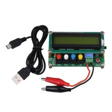 Digital Capacitance Tester Meter LC100-A Digital LCD High Precision Inductance Capacitance L/C Meter Capacitor Test Instruments smc ise30a 01 a l high precision digital pressure switch 2 npn output 0 1 1 0mpa r1 8 and zs 27 c