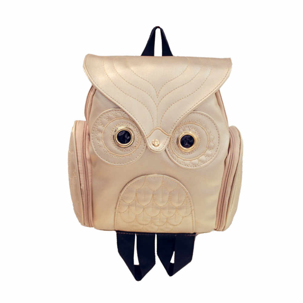 OCARDIAN Bag Fashion Personality Cute Owl Backpack Women Girl Cartoon School Bags For Teenagers Girls Backpack Dropship May16