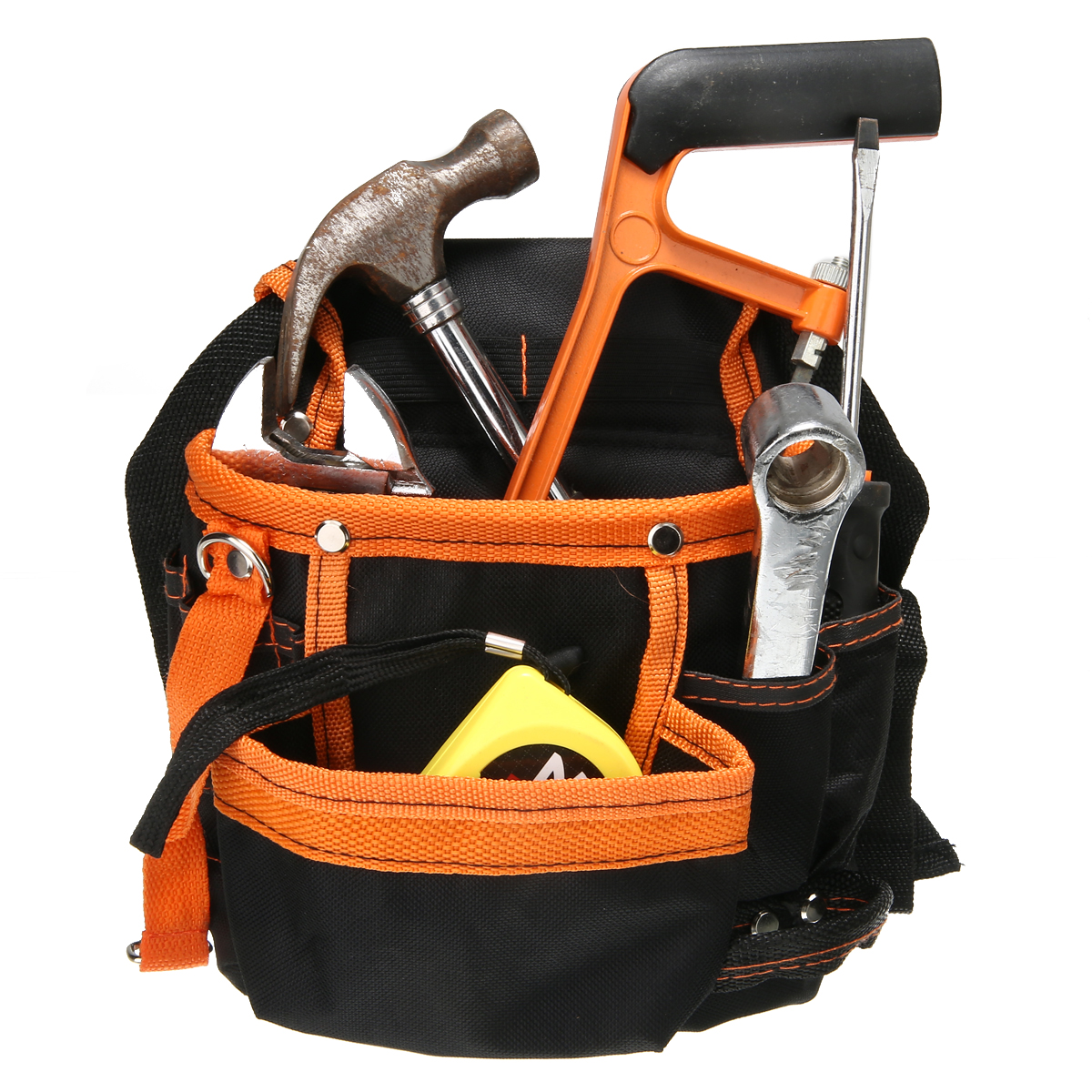 Mayitr Multifunction Electricians Tool Belt Pouch Screwdrivers Hammer Pencil Holder