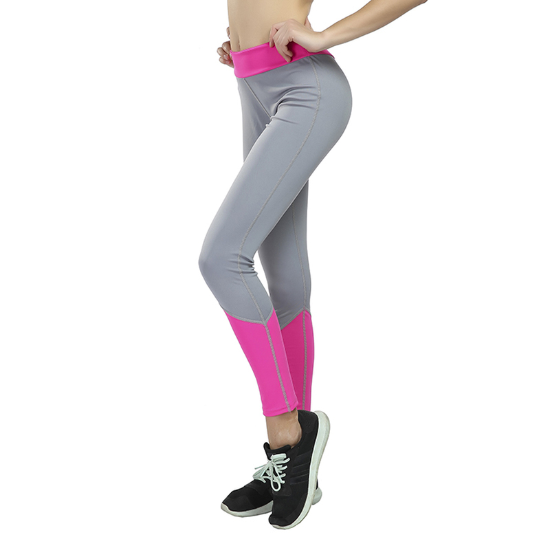 Women Leggings Capris High Compression Pants Pachwork Leggings Slim Fitness Breathable Work Out Legins Push Up Sexy Leggings