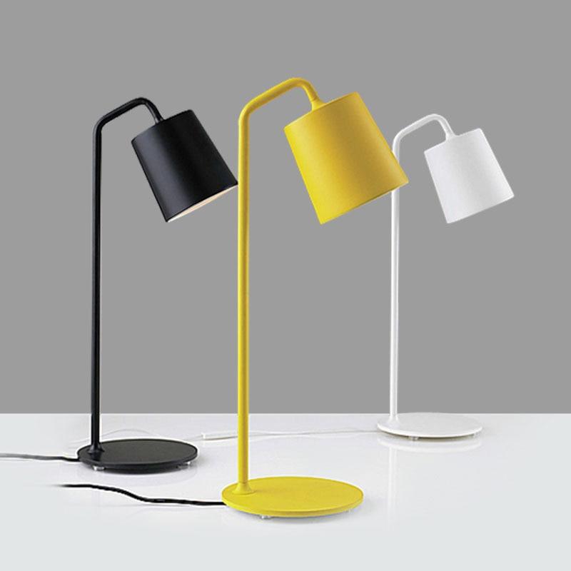 Modern minimalist metal table lamp for living room bedroom for Home design zymeth aluminum table lamp