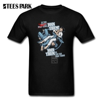 Online Tee Shirts Judo Join them Homme Crew Neck Short Sleeve Tee Shirts Exercise Homem Mens Black And White Shirt
