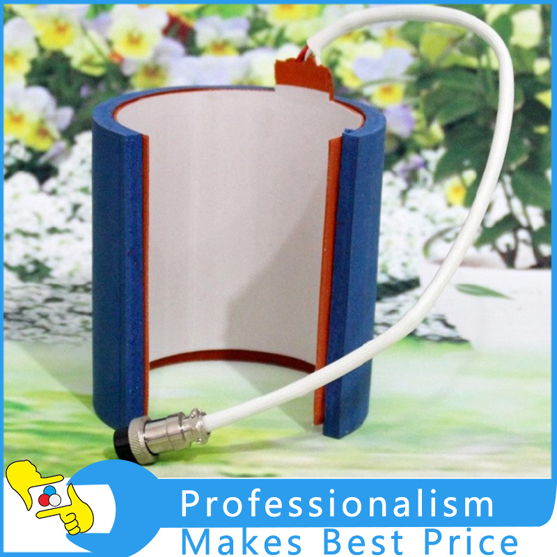 Mug Heater 7.5-9.5cm(Heat Press Machine Accessories) Stainless Steel 12oz Mug Attachment for Heat Press Machine 1 pcs 38 38cm small heat press machine hp230a