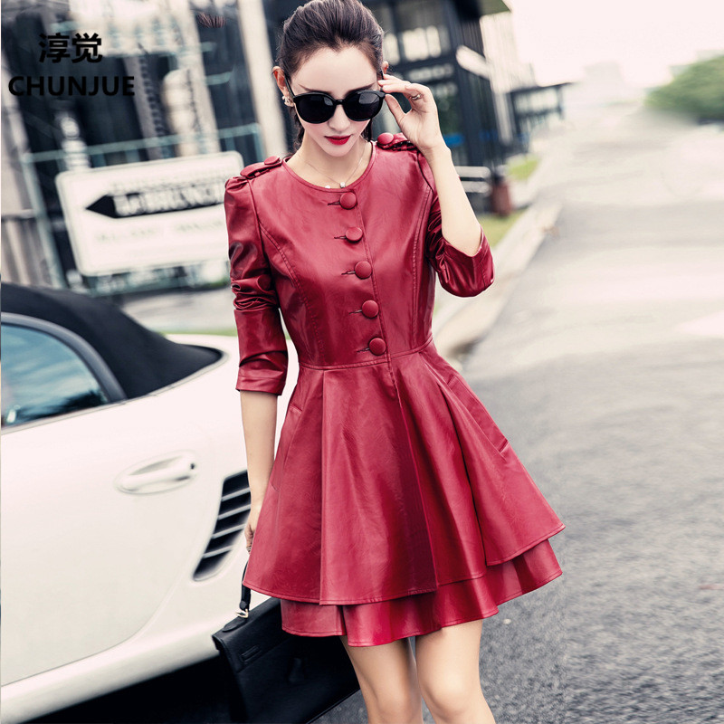 Plus Size 5XL 6XL Woman Jackets Coat New Style Fashion Brand Clothing coats   leather   jacket women cloths