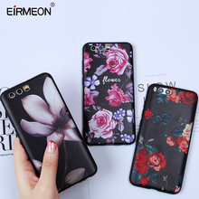 EIRMEON Silicon Case For Honor 9 Huawei P8 P9 P10 P20 Pro Lite 2016 2017 6X 7X 10 Nova 2 Plus Matte Soft TPU Floral Covers
