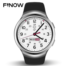 ON SALES Finow X3 K9 Smart Watch 3G Dual Core Bluetooth Android 4.4 Pedometer Heart Rate Monitor WCDMA SIM Card Smartwatch PK D5