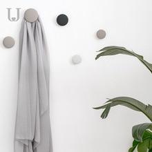Jordan&Judy 3pcs/set Fashion Creative Wall-mounted Hanging Hook Eco-friendly Silicone Hanger Removable Wall Bag Holder все цены