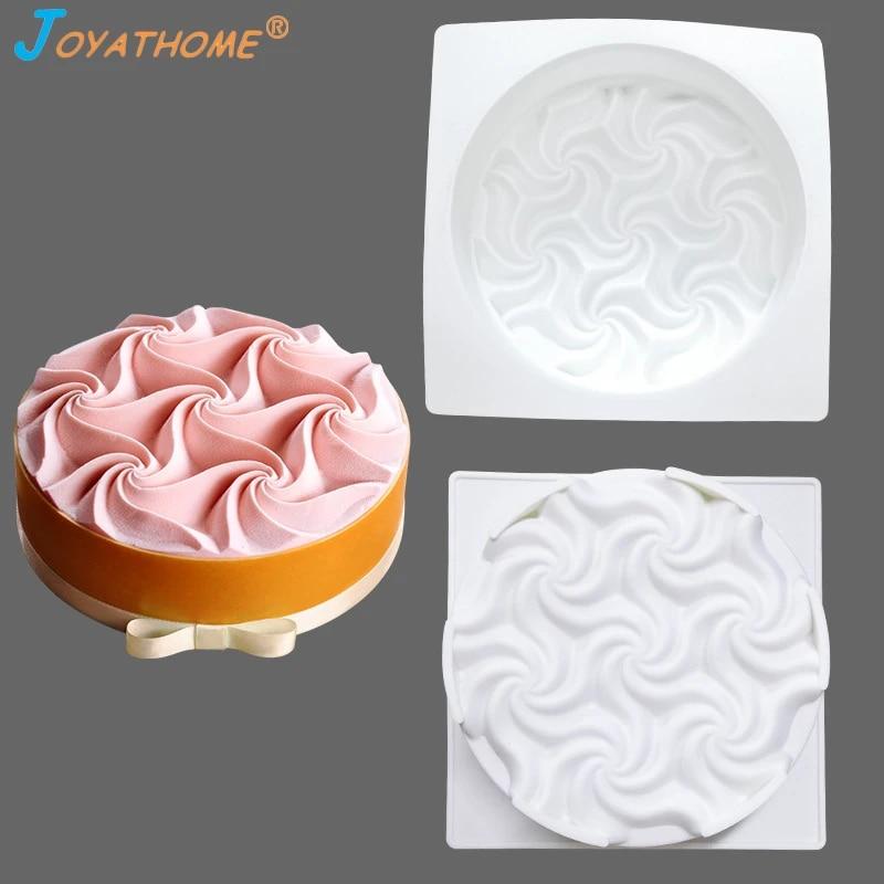 Dessert Mould Chocolate Pan Mold Cake Mousse Art Set Silicone Bakeware Baking