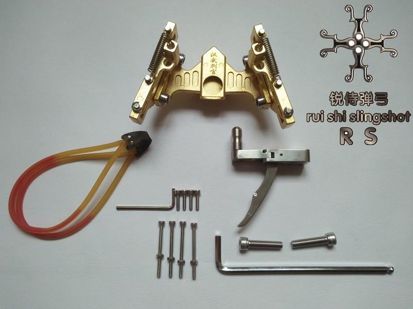 ULTRA Sling Shot Folding Wrist Polishing treatment  slingshot DIY KITS Mechanical Crossbow Bow and arrow Accessories