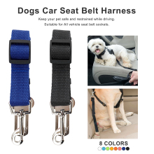 45-75cm 1pcs Adjustable Dog Car Safety Seat Belt Pets Dogs Seatbelt Cat Carriers Leads Belts Pet Accessories