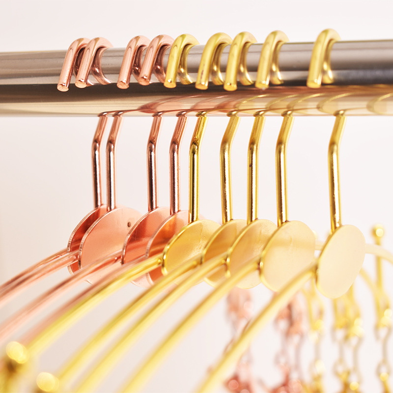 20 PCS Lot Exquisite Metal Bold Non slip Underwear Alloy Hanger Underwear bra Clothespin Bra Underwear Panties Clip Clothes Rack in Hangers Racks from Home Garden