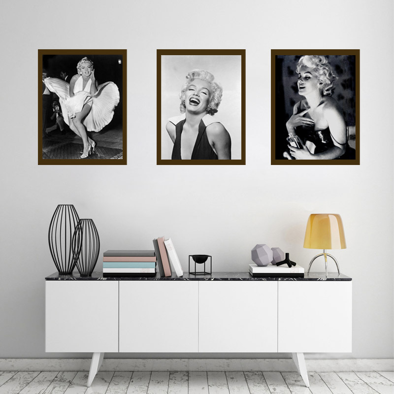 Marilyn Monroe Quotes canvas Pantting Poster wall pictures for living room Wall art home ...