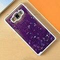 Динамически Жидкостное Блеск Блестка Зыбучие Пески Звезды Крышка Телефона Чехол Коке для Samsung Galaxy A3 A5 A7 2016 A310 A3 A5 A7 A510 A710