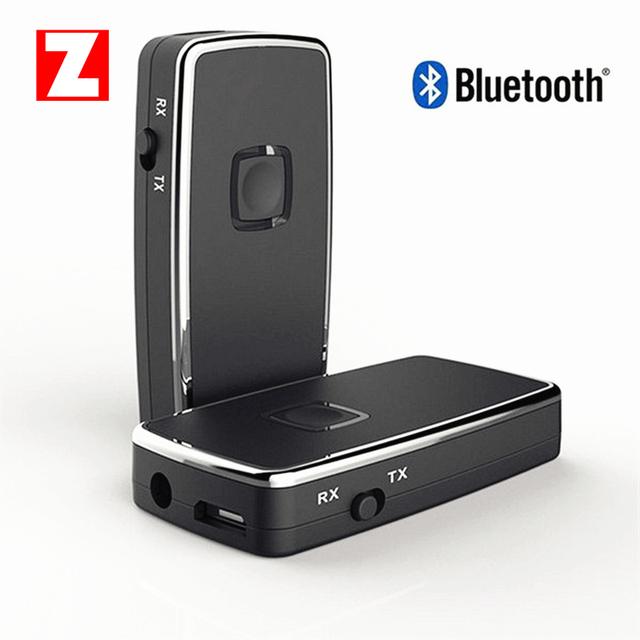 Original novo Mini Bluetooth V2.1 + EDR fone de ouvido Estéreo De Áudio do Transmissor e Receptor Adaptador Dongle para TV iPod Mp3 Mp4 livre grátis
