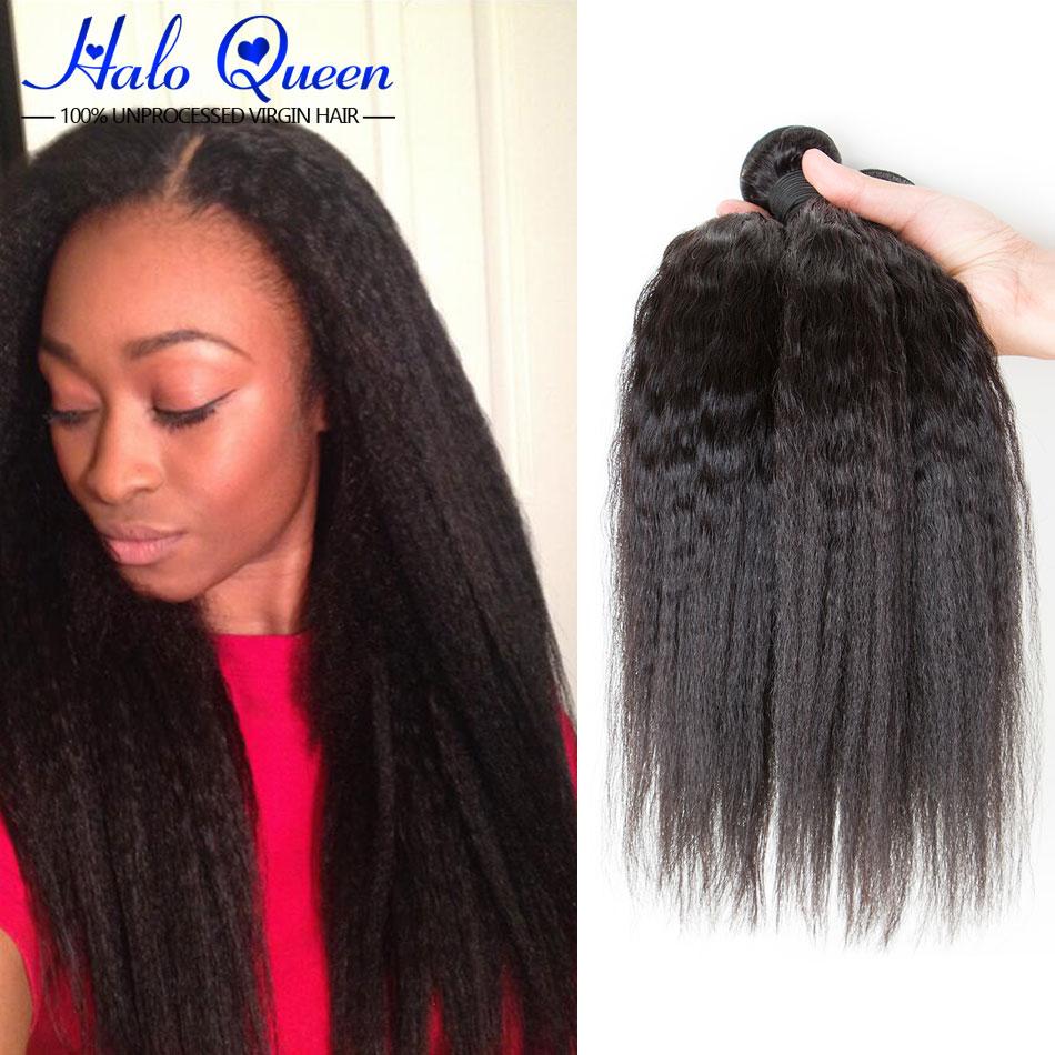 Brazillian Kinky Straight Hair Mink Brazilian Hair 1 Bundle Weave