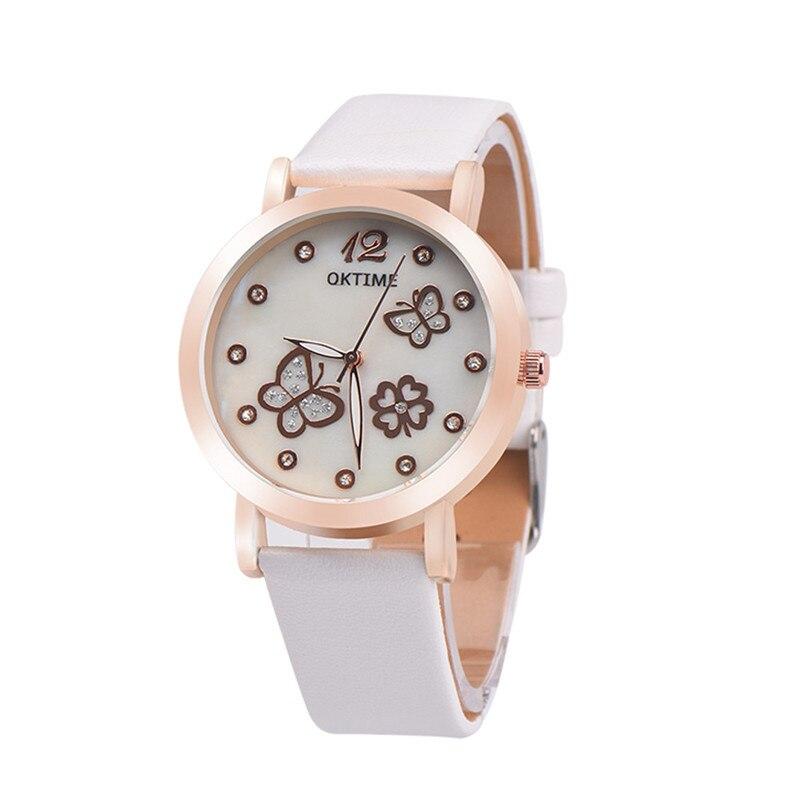Women Watches Fashion PU Luminous Leather Luminous Quartz Wristwatches Clock Montre Femme for Female Lady Relogio Feminino