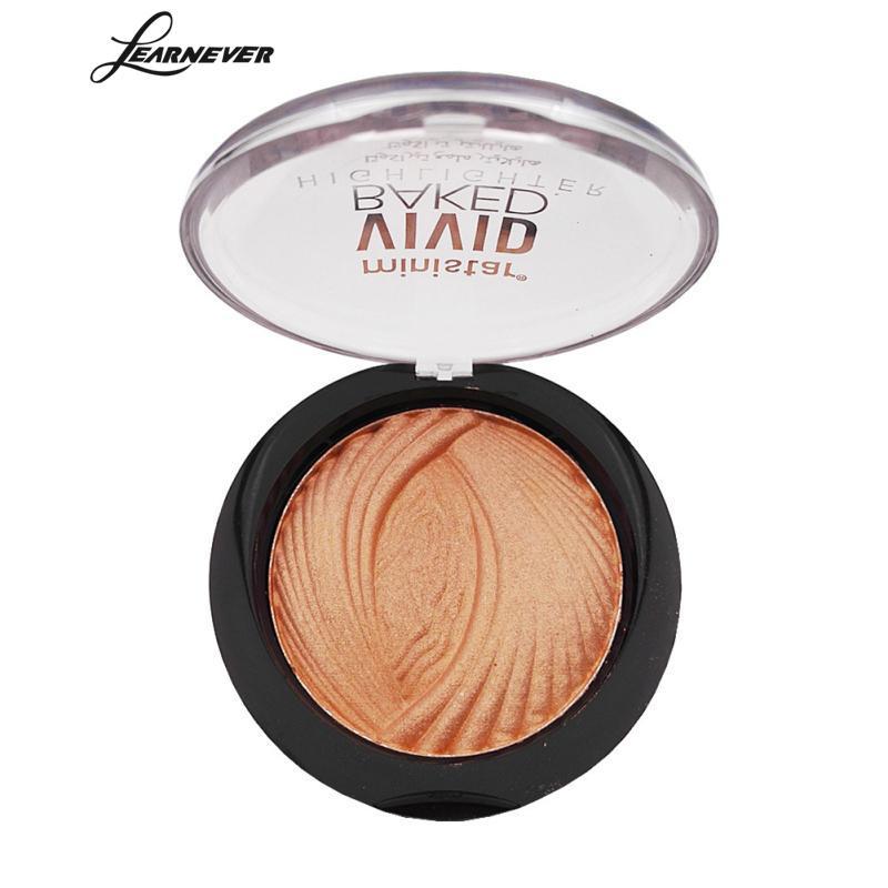 Learnever 1pcs Shimmer High Light Trim Powder Brighten Highlight Trim Powder Makeup Waterpoof Lasting Face Powder Beauty Make Up