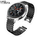 Ремешок Laforuta из нержавеющей стали для Samsung Galaxy Watch 46m Samsung Gear S3 Frontier/классический ремешок на запястье 22 мм с быстроразъемным ремешком