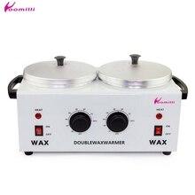 Восковая машинка для депиляции, двойной парафиновый нагреватель, нагреватель воска, спа эпилятор для рук и ног, инструмент для удаления волос