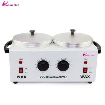 Depilatory Wax Machine Double Paraffine Warmer Wax Heater SPA Hand and Feet Epilator  Hair Removal Tool 1