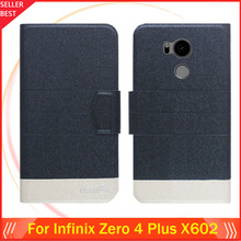 5 Colors Factory Direct!! Infinix Zero 4 Plus X602 Case Dedicated Fashion Luxury Leather Protective 100% Special Phone Cover
