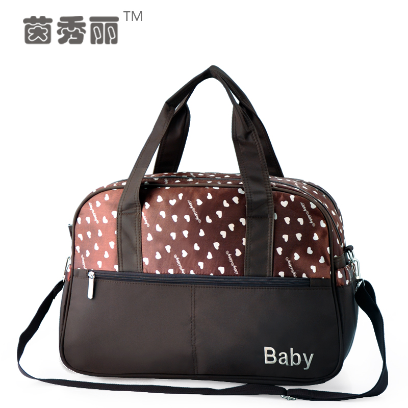 New Style Retro Baby Diaper Bag 100% Nylon Waterproof Nappy Bags Mommy Bags