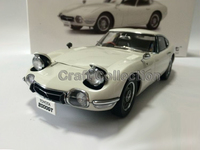 White 1 18 Toyota 2000GT MF10 Coupe AutoArt AA Diecast Model Car Aluminum Die Casting Products