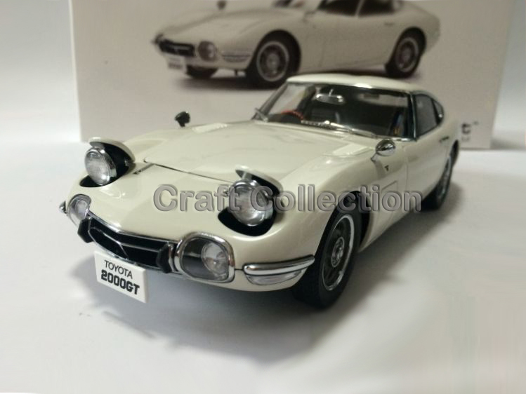 White 1/18 Toyota 2000GT MF10 Coupe AutoArt AA Diecast Model Car Aluminum Die casting Products Craft Collection Brinquedos 1 18 otto renault espace ph 1 2000 1 car model reynolds