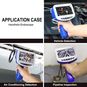 Image 3 - 1080P Industrial Endoscope Inspection Camera Portable Hard Cable Handheld Wifi Borescope Videoscope with 4.3 inch LCD Endoscope