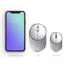 Rapoo M600 2.4G Bluetooth Dual Mode Office Mouse Portable Lightweight Mini FOR laptop WINDOWS MAC