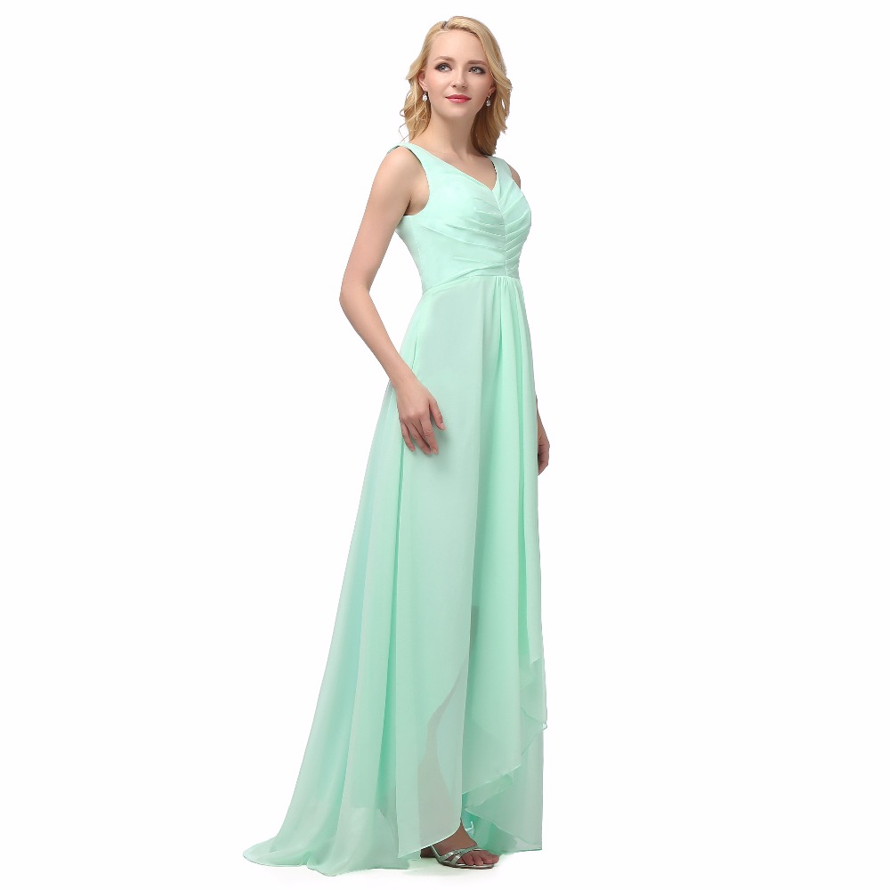 Cheap v neck long mint green bridesmaid dresses 50usd dhl free cheap v neck long mint green bridesmaid dresses 50usd dhl free shipping ready to ship royal pink lilac red 8 colors size 2 22w in bridesmaid dresses from ombrellifo Gallery