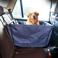 Pet Dog Car Carrier Seat Bag Travelling Folding Hammock Waterproof Basket Safety Mesh Hanging Bags Dog Seat Bag Basket Protector