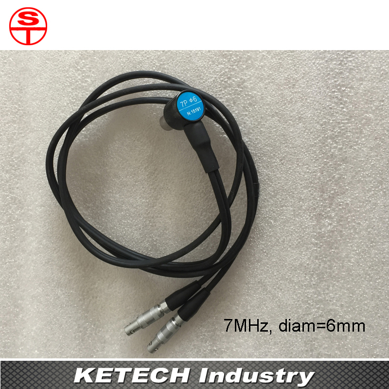 7MHz Probe Transducers For Ultrasonic Thickness Gauge 5mhz 10mm probe transducer for ultrasonic thickness gauge