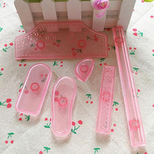 Cookie Sports football shoes Cake decorating tools Cupcake Kitchen accessories Cake mold  6PCS/SET