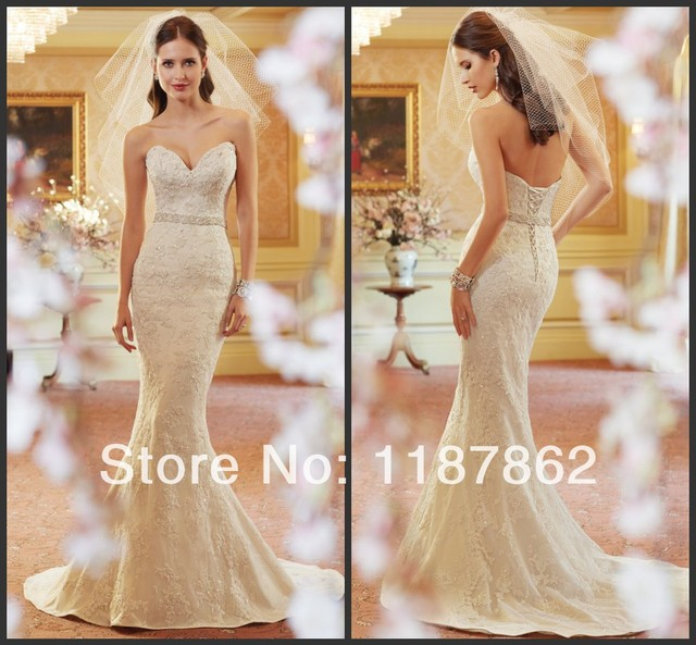 Wd 0094 New 2017 Open Back Lace Wedding Dresses Luxury Overall Fashion Beach