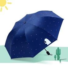 beach mini fashiona umbrella girl female automatic parasol fashionable folding umbrellarain  woman uv sunshade pocket