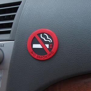 Image 5 - Dewtreetali Kleber Aufkleber Warnung Keine Rauchen Logo Auto Aufkleber Einfach Zu Stick für bmw benz ford vw peugeot opel renault mazda golf