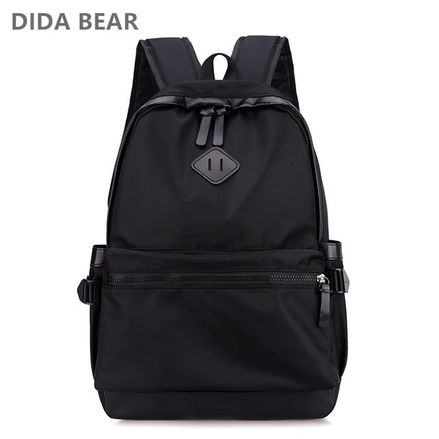 9a50e33d260c Men Backpacks Nylon Large Space Backpack Unisex Rucksack School Bag For  Teenagers Boys Male Leisure Travel Bags Bolsas Mochilas